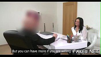 waitress topless interview Hard block fuck