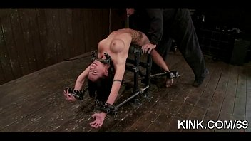 cheating4 bound punished for guy Lexi belle test