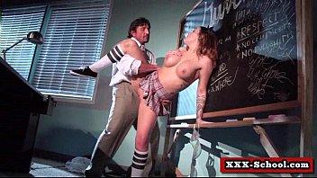 tits school big spanking Nastya the actor