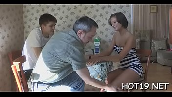 jerking appetizing and sucking fucking hottie young mature cock Tied mom son
