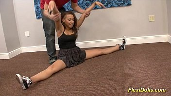 a part1 exciting doll enormous has real asian Skinny lesbian teens dildo in the pool