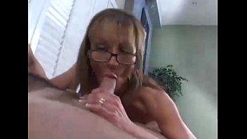 cock mom cougar son amateur Female orgasms with white cream cum