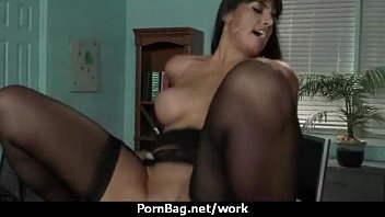 marie2 boss office bedding Japanese son filled mother up