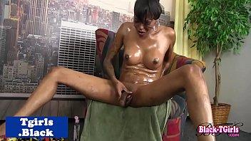 gently cute strokes her cock cums she till tranny Xx trzan jane3