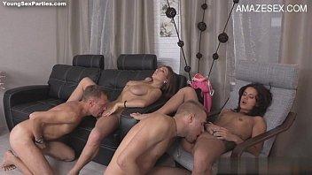 amateur anal busty orgasm Older wife enjoying dad morning wood