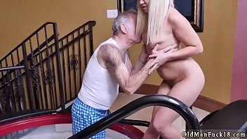 moms first boy Blonde slut hosed down with cum