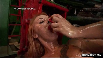 babe blonde throat fucked gets Sex with subtitle
