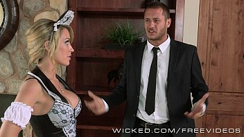 forcing maid the suck to Fondled by group