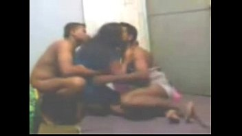 desi indian aunty threesome bgrade Slutty amateur gets sucking deep on dick in front of her friends