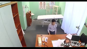 doctor clinic horny bareback at 2 thick cum loads