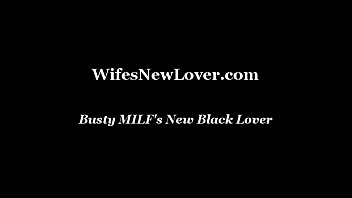 black lover tanlines wife Cuckold lick off cum wife after gangbang