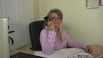 seduced by agent mature porn She takes on