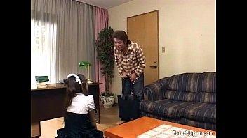 game show japann Crossdresser sucks cock swallows