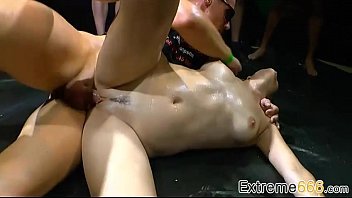 group old piss german Girl puts football in pussy