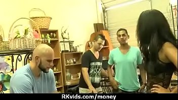 takes czech money for public foursome Bathroom coworker footage