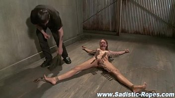forced and tied fuck teenage Latex machine bondage