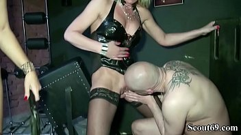 unusual femdom sounding Latin hunk loves tgirl dick