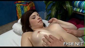 massage 18 fuck free hard Brunette mom son