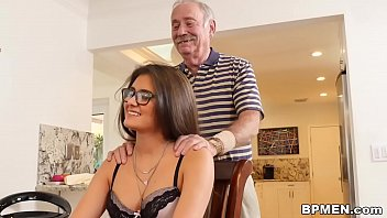 old men solo Stepmom rebecca bardoux makes katerina mckenna eat her pussy
