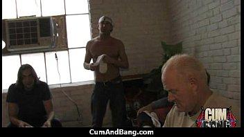 interracial retro vintage blowjob Pussy has dripping orgasm