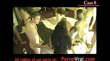 slumber hot part 1 party Mom and son sucking dad dick