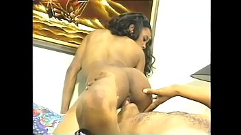 wife of front boots wearing husband leather friend seduces in D in bed