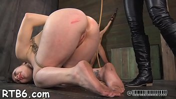 be forced a slave to Cris commando finds some work for briella bounce big ass cheeks