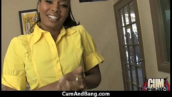 real slut groped whitey ebony gets by theater British stockings milf gives her slave a blowjob