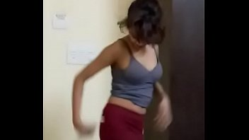 in by saree girl indian hotel anjh red Japanese young mom sex son