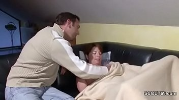 when gets sleeping mom fucked step Black busty teacher molest