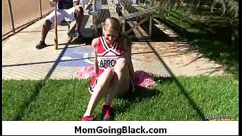 watching caught mommy German loud orgasm