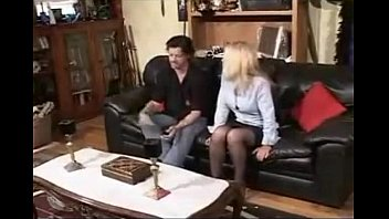 nylons caning ff heels high man for severe by woman in Milf picked for massage