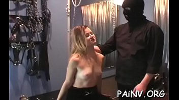 gay parrots torture perch Michellec swallows cum at the gloryhole