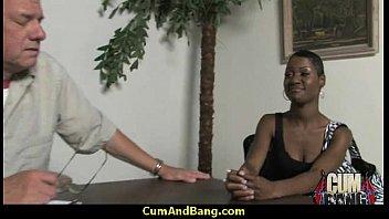 throat black slut Intergeneration blowjob old vs young who will win