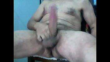 mostrando el pija en la ciber Horny sexy boy big cock huge cum load 2