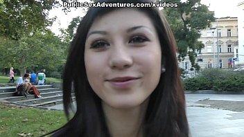 show mouthwatering brunette webcam strip broadcasts a Russian teen masha jerking off