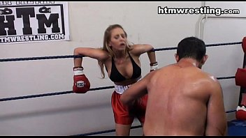 gloves and dominated leather bitch heels mistress in by male Young candy takes big cock
