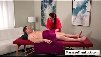 massage real part 1 Stuffing with big toys