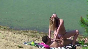 beach nude voyeur Rape in parking