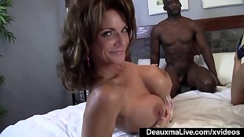 deauxma chambers iterracial ashlee Arab girl with a nice big ass riding