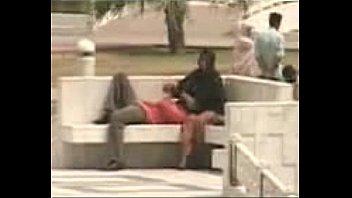 bench public park flashing Aliana dawsan alex mae
