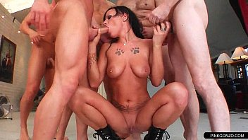 gangbang whore truckers Gf shows for bf porn
