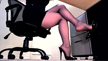 in secretary beaten fucked and indian office Fetter 8cm schwanz