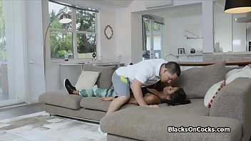 sleep black party after Delicious double creampie interracial babymaker 1