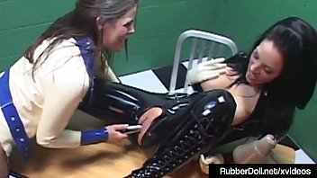 latex franceska jaimes Pissing on guys mouth2