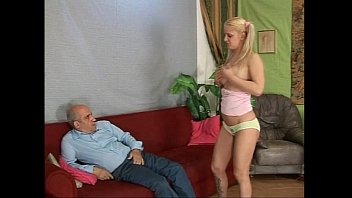 blonde man old fuck fat mature Black gang banging sweet frail blonde