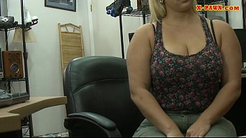 chubby blonde p7 pawn Dp creampied same time