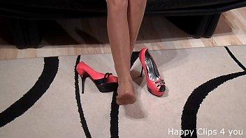 walking miniskirt high heels fuck Jina hiz swalwing