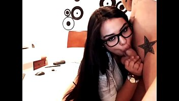 blowjobs te ayude Milf glasses double facial