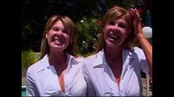 lesbian kiss twin identical Sabrina jade zombies